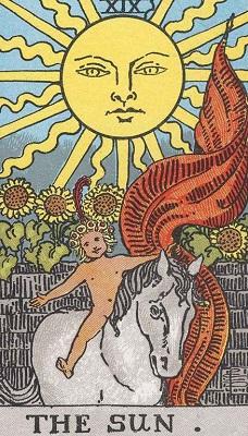太陽の正位置の意味【恋愛】相手の気持ちタロット
