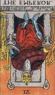 皇帝の逆位置の意味【恋愛】相手の気持ちタロット