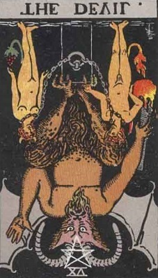 悪魔の逆位置の意味【恋愛】相手の気持ちタロット