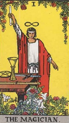 魔術師の正位置の意味【恋愛】相手の気持ちタロット