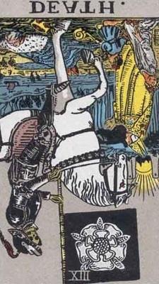 死神の逆位置の意味【恋愛】相手の気持ちタロット